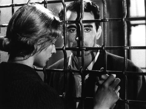 Pickpocket, Marika Green, Martin Lasalle, 1959 Foto
