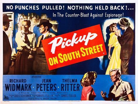 Pickup on South Street Kunstdruck