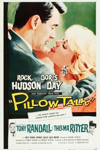 Pillow Talk Kunstdruk
