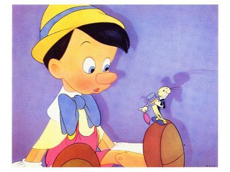 Pinocchio, 1940 Kunstdruk