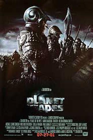 Planet Of The Apes 2001 Originalposter