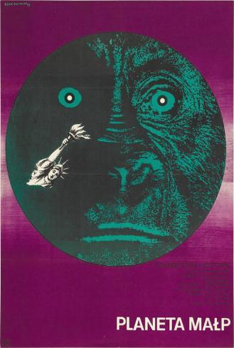 Planet of the Apes - Polish Style Poster