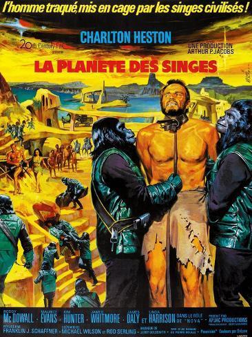 Planet of the Apes Kunstdruck
