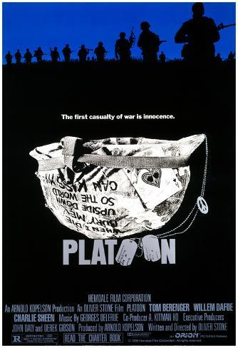 Platoon Helmet Official Movie Poster Print Poster