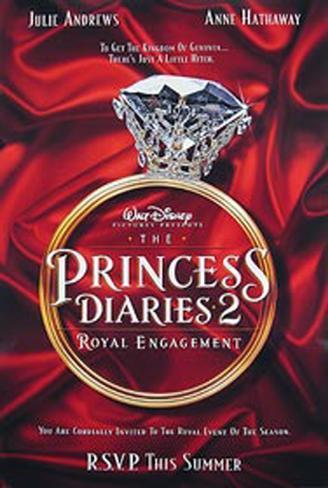 Plötzlich Prinzessin 2 Originalposter