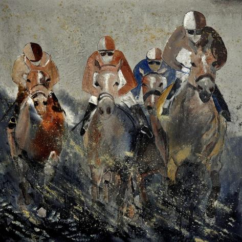 Horse Race 4110 Kunstdruck