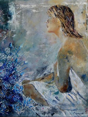 Roses and Dreaming Kunstdruck