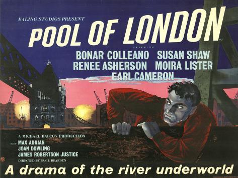 Pool of London Kunstdruck