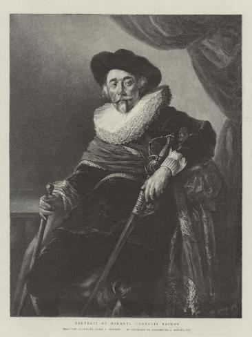 Portrait of Colonel Cornelis Backer Giclée-Druck