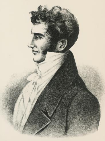 Portrait of Ivan Ivanovich Kozlov Giclée-Druck