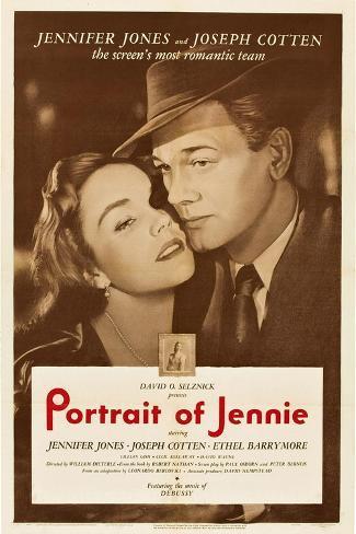 Portrait of Jennie Kunstdruck