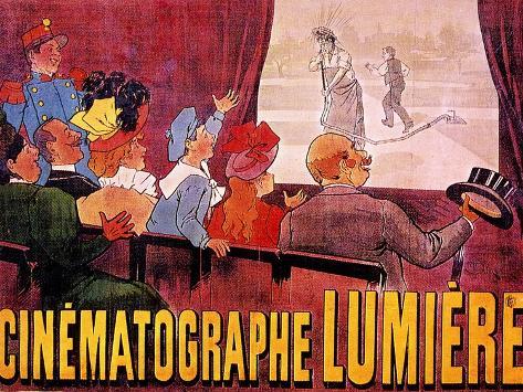 Poster for the Lumiere Cinema: L'Arroseur Arrose Giclée-Druck