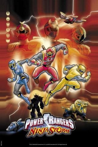 Power Rangers Ninja Storm Neuheit