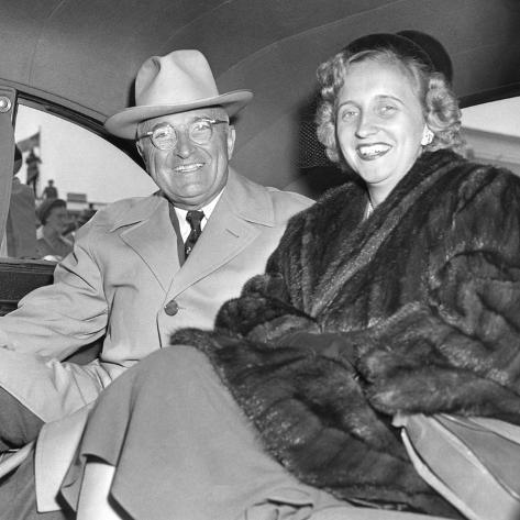 President Harry Truman and Daughter Margaret Returning ... Harry Truman Funeral 1972