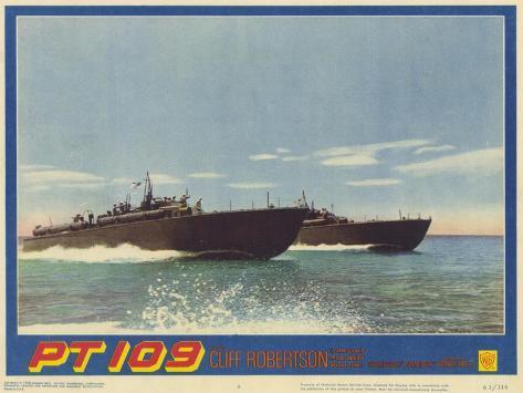PT 109, 1963 Kunstdruck