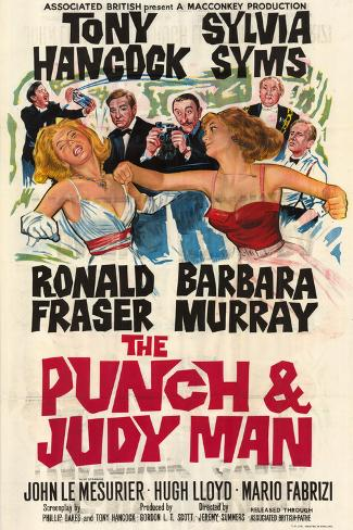 Punch and Judy Man (The) Kunstdruck