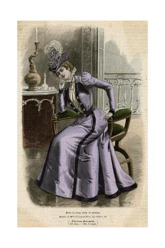 Purple Ensemble 1899 Giclée-Druck