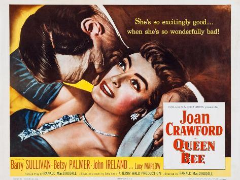 Queen Bee, Joan Crawford, Barry Sullivan, 1955 Kunstdruck