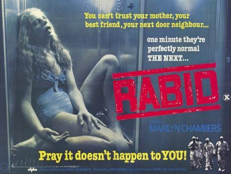 Rabid–Der brüllende Tod Neuheit