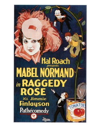 Raggedy Rose - 1926 Giclée-Druck