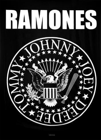 Ramones Eagle Logo Print Bij Allposters