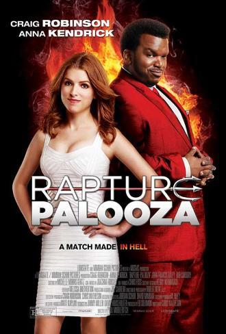 Rapture-Palooza Movie Poster Neuheit