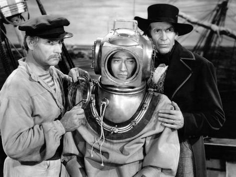 Reap The Wild Wind, Victor Varconi, John Wayne, Raymond Massey, 1942 Foto