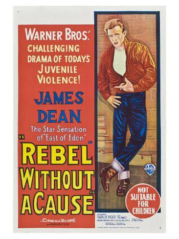 Rebel Without a Cause, Australian Movie Poster, 1955 Sonstiges