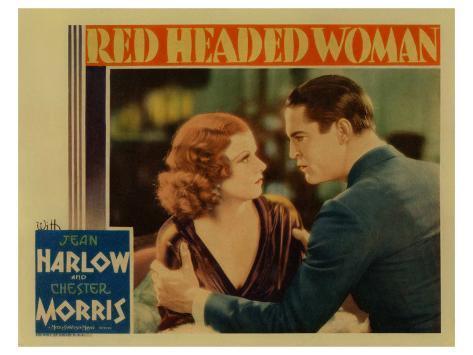 Red-Headed Woman, 1932 Kunstdruk