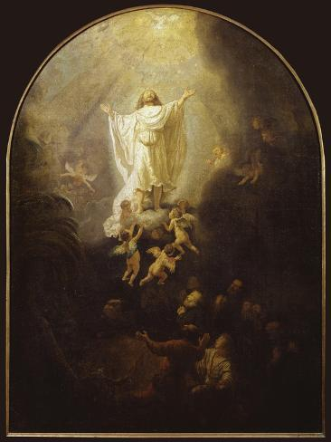 Ascension of Christ Gicléedruk