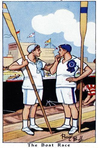 The Boat Race, 1936 Giclée-Druck