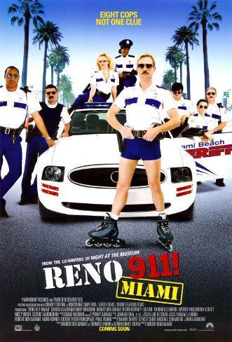 Reno 911- Miami Doppelseitiges Poster