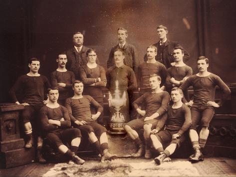Renton F.C., 1888/9 Fotografie-Druck