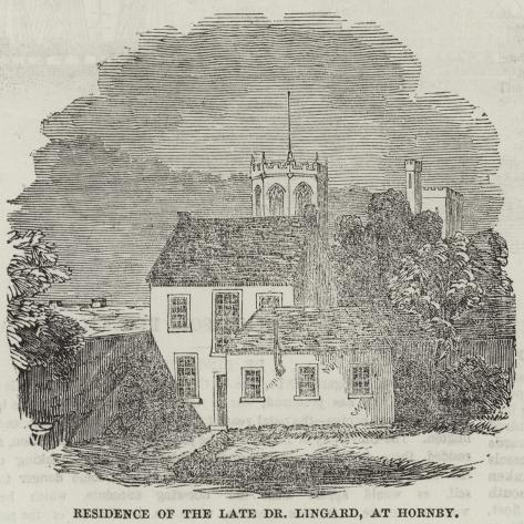 Residence of the Late Dr Lingard, at Hornby Giclée-Druck