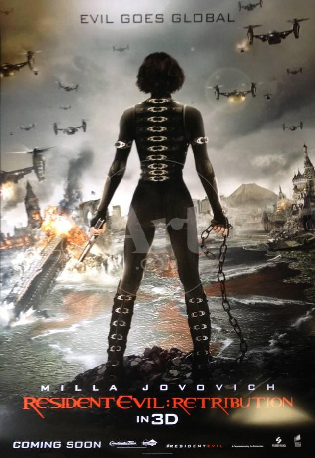 Resident Evil Retribution - International Poster Poster - AllPosters.at