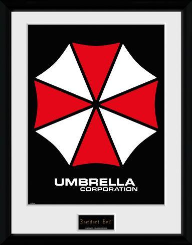 Resident Evil Umbrella Sammlerdruck