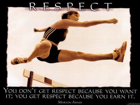 Respekt Kunstdruck