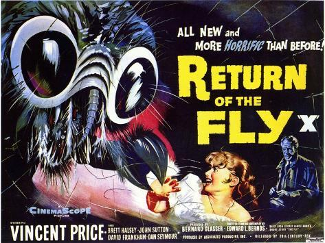 Return of the Fly, 1959 Kunstdruck