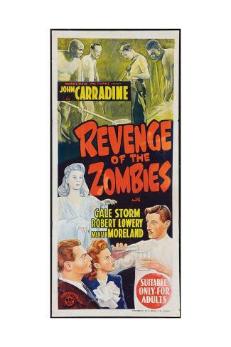 Revenge of the Zombies Kunstdruck