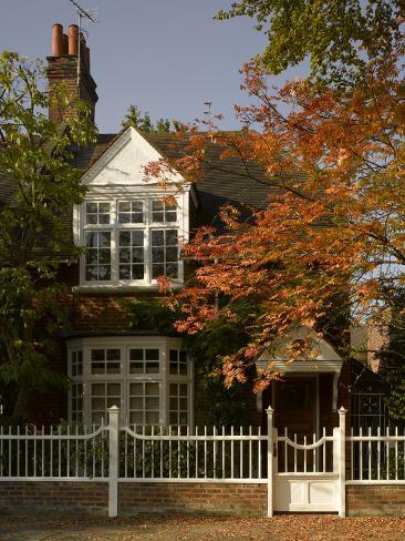 Bedford Park, Acton, London Fotografie-Druck