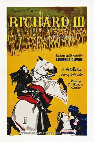 Richard III Kunstdruck