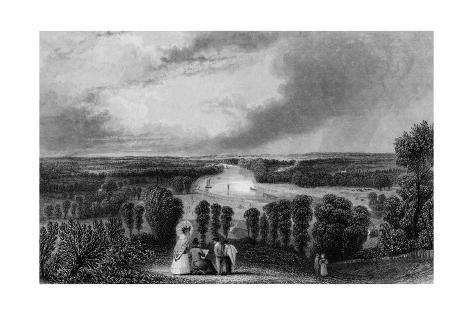 Richmond, Surrey Giclée-Druck