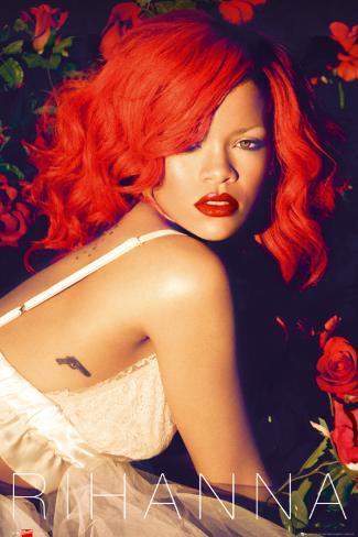 Rihanna - Roses Poster