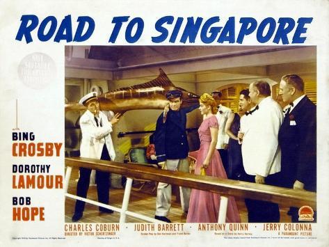 Road to Singapore, 1940 Kunstdruck