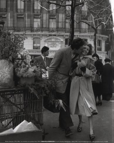 Paris, 1950 Kunstdruck