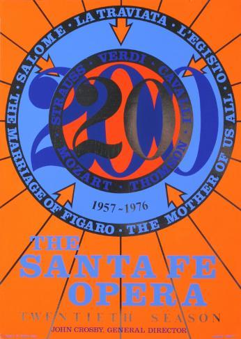 The Santa Fe Opera Sammlerdrucke