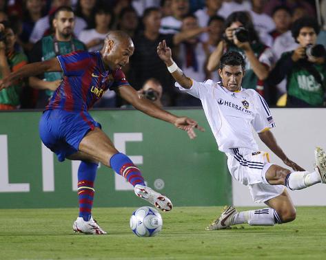 Aug 1, 2009, FC Barcelona vs Los Angeles Galaxy - Thierry Henry Foto