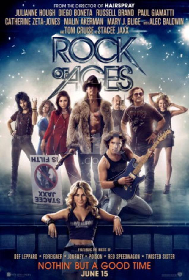 Rock of Ages (Tom Cruise, Catherine Zeta Jones, Alec Baldwin) Movie ...