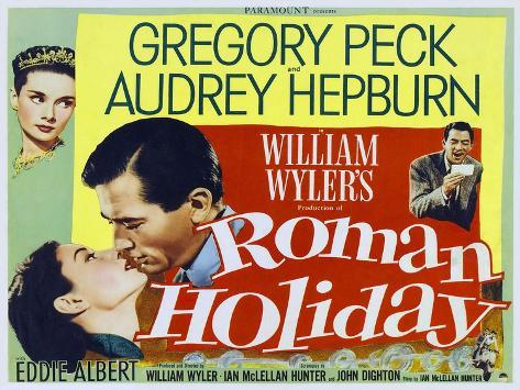 Roman Holiday, 1953 Kunstdruck