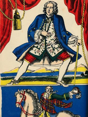 George II, King of Great Britain and Ireland from 1727, (1932) Giclée-Druck